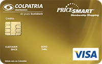 Logo Banco Colpatria PriceSmart Oro