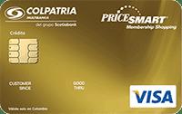 Logo Banco Colpatria PriceSmart Platinum