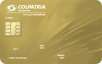 Logo Banco Colpatria Visa Oro