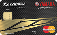 Logo Banco Colpatria Yamaha Oro