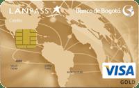 Logo Banco de Bogotá LATAM Pass Gold
