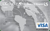 Logo Banco de Bogotá LATAM Pass Platinum