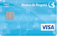 Logo Banco de Bogotá Logros Visa