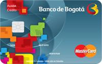 Logo Banco de Bogotá Mastercard Aliada