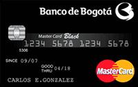 Logo Banco de Bogotá Mastercard Black
