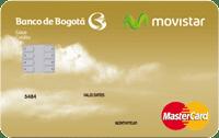 Logo Banco de Bogotá Movistar Gold