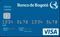 Logo Banco de Bogotá Visa Clásica