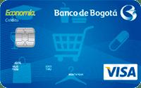 Logo Banco de Bogotá Visa Economía