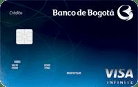 Logo Banco de Bogotá Visa Infinite