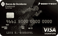 Logo Banco de Occidente Bodytech Signature