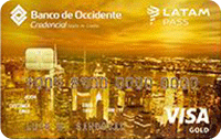 Logo Banco de Occidente LATAM Pass Gold