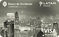 Logo Banco de Occidente LATAM Pass Platinum