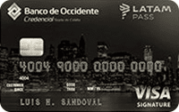 Logo Banco de Occidente LATAM Pass Signature