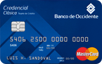 Logo Banco de Occidente Mastercard Clásica