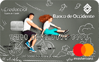 Logo Banco de Occidente Mastercard Joven