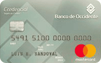 Logo Banco de Occidente Mastercard Platinum