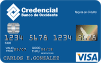 Logo Banco de Occidente Visa Clásica