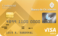 Logo Banco de Occidente Visa Gold