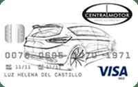 Logo Banco Finandina Visa Central Motor