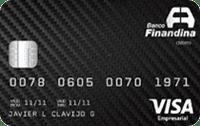 Logo Banco Finandina Visa Empresarial