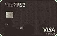 Logo Banco GNB Sudameris Visa Signature