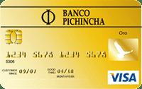 Logo Banco Pichincha Visa Gold