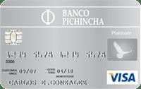 Logo Banco Pichincha Visa Platinum