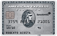 Logo Bancolombia American Express Platinum