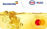 Logo Bancolombia Esso Mobil Clásica