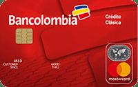 Logo Bancolombia Mastercard Clásica