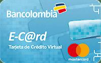 Logo Bancolombia Mastercard E-Card
