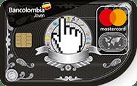 Logo Bancolombia Mastercard Joven