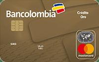 Logo Bancolombia Mastercard Oro