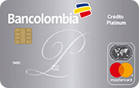 Logo Bancolombia Mastercard Platinum