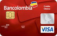 Logo Bancolombia Visa Clásica