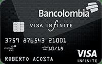 Logo Bancolombia Visa Infinite