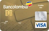 Logo Bancolombia Visa Oro