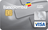 Logo Bancolombia Visa Platinum