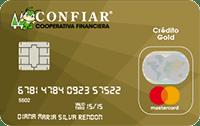 Logo Cooperativa Confiar Mastercard Gold