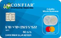 Logo Cooperativa Confiar Mastercard Micro