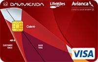 Logo Banco Davivienda Avianca LifeMiles Platinum