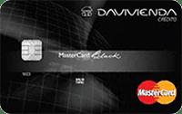 Logo Banco Davivienda Mastercard Black