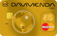 Logo Banco Davivienda Mastercard Gold