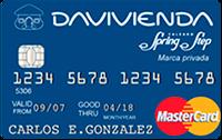 Logo Banco Davivienda Spring Step Clásica