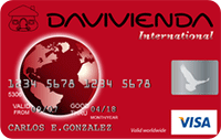 Logo Banco Davivienda Visa Clásica