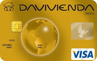 Logo Banco Davivienda Visa Gold