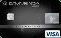 Logo Banco Davivienda Visa Signature