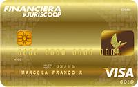 Logo Financiera Juriscoop Visa Gold